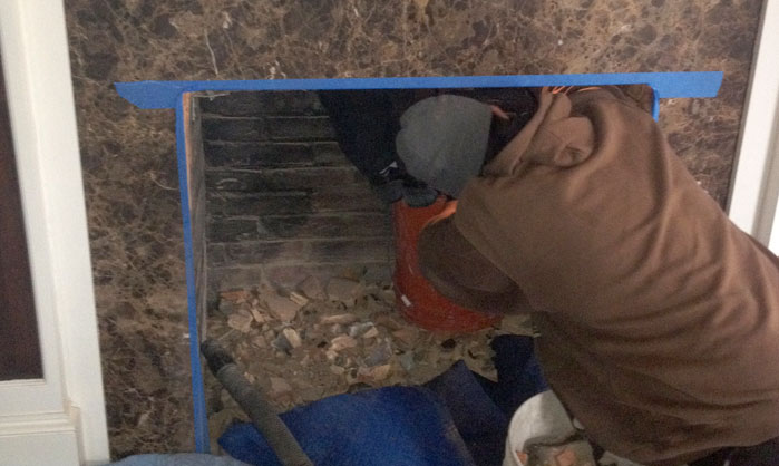 Chimney inspection and cleaning services