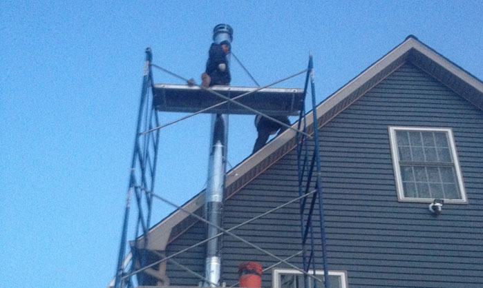 Chimney installation services