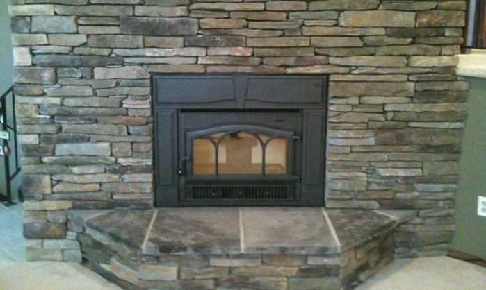 Wood stove, pellet stove, and gas stove installation